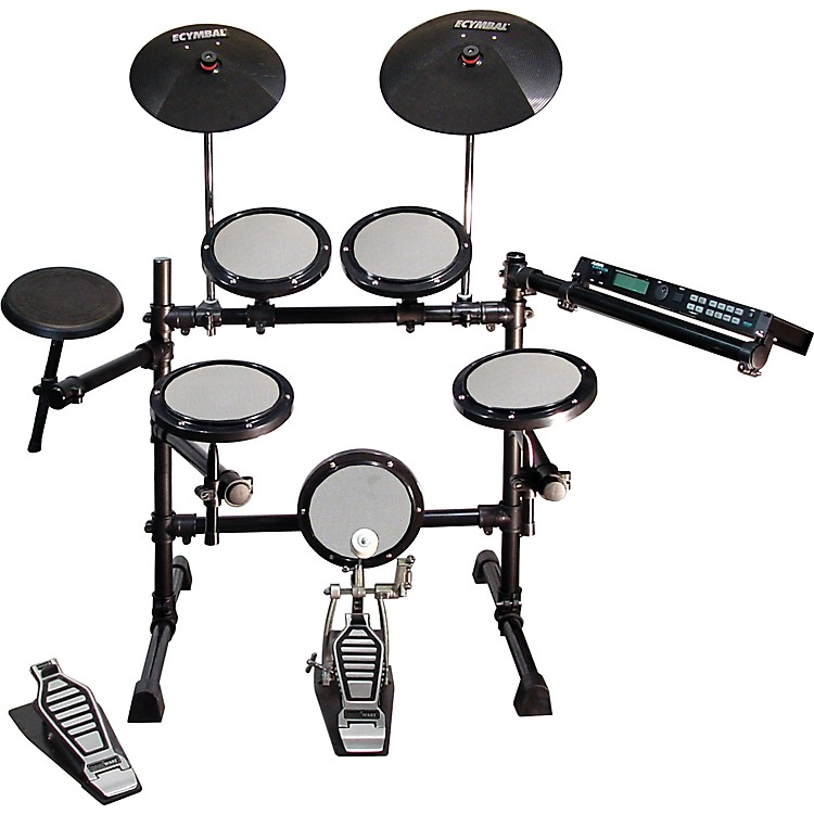 Hart Dynamics Prodigy Electronic Drum Set and Alesis DM5 Module Kit