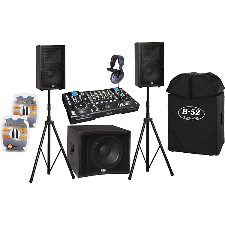 b 52 prodigy fx and matrix 2000 dj pa package musician 39 s friend. Black Bedroom Furniture Sets. Home Design Ideas