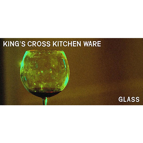 Spitfire Producer Portfolio: King's Cross Kitchenware #2 Glass