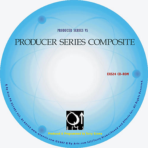 Q Up Arts Producer Series Composite V5 Steinberg HALion CD-ROM