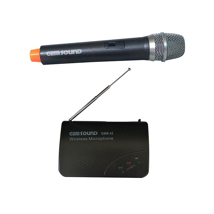 Gem SoundProfessional Handheld Wireless MicrophoneFreq. D