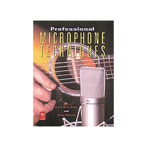 Hal Leonard Professional Microphone Techniques Book/CD