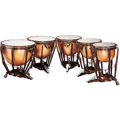 Ludwig Professional Series Fiberglass Timpani 5 Set Concert Drums
