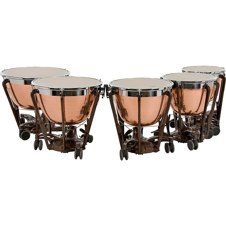 AdamsProfessional Series Generation II Hammered Cambered Copper Timpani32 Inch