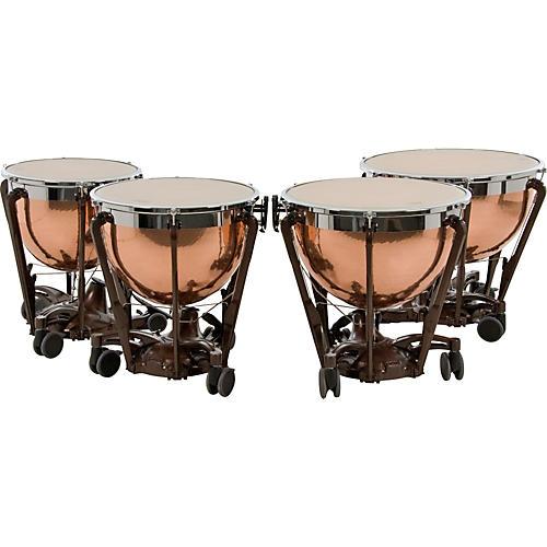 Adams Professional Series Generation II Hammered Copper Timpani, Set of 4