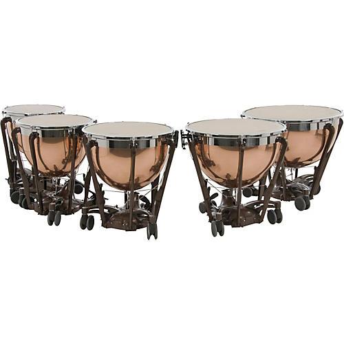 Adams Professional Series Generation II Polished Copper Timpani, Set of 5-thumbnail