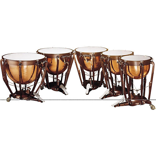 Ludwig Professional Series Hammered Timpani Concert Drums Lkp520Kg 20  in. With Pro Tuning Gauge