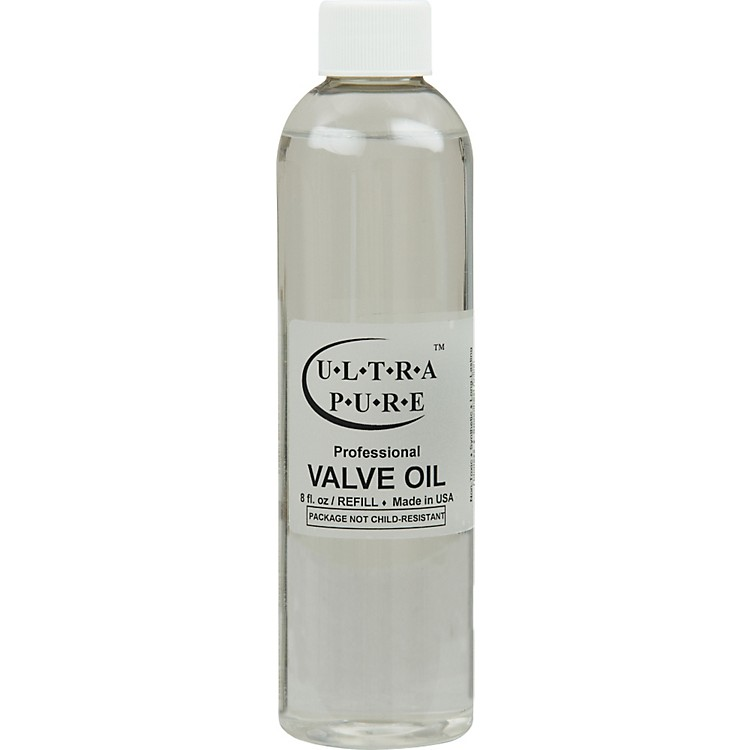 Ultra-Pure Professional Valve Oil Refill 8 Oz