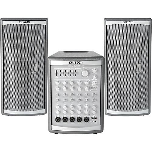 Kustom Profile Two 300W PA System with Roller Bag-thumbnail