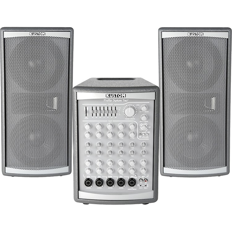 KustomProfile Two 300W PA System with Roller Bag