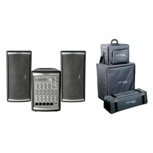Kustom PA Profile Two PA System w/ Roller Bag