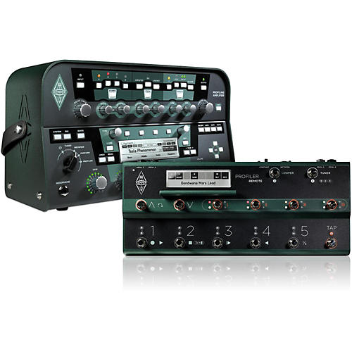 Kemper Profiler PowerHead 600W Guitar Head + Remote Bundle.-thumbnail
