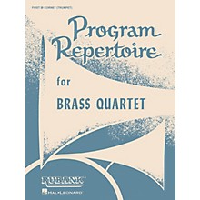 Rubank Publications Program Repertoire for Brass Quartet (Baritone T.C. (Fourth Part)) Ensemble Collection Series