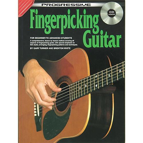Koala Music Progressive Fingerpicking Guitar (Book/CD)