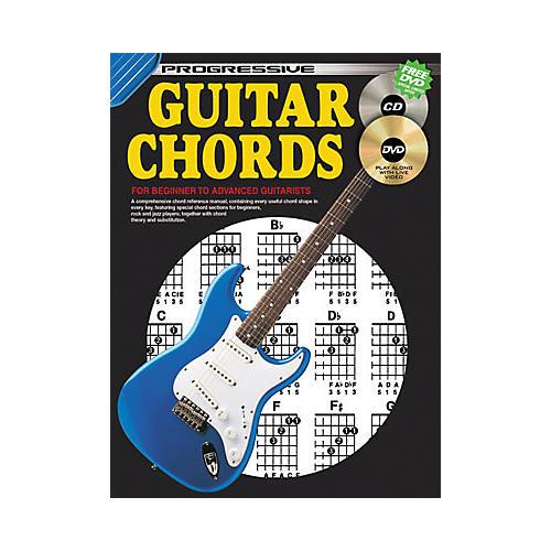 Koala Music Progressive Guitar Chords Book/CD/DVD