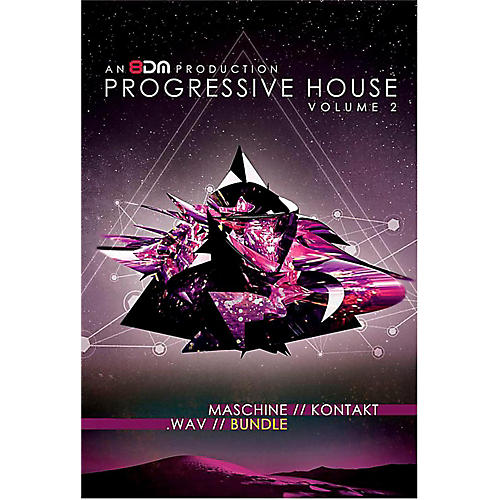 8DM Progressive House Vol 2 Bundle (Wav/Kontakt/Maschine)
