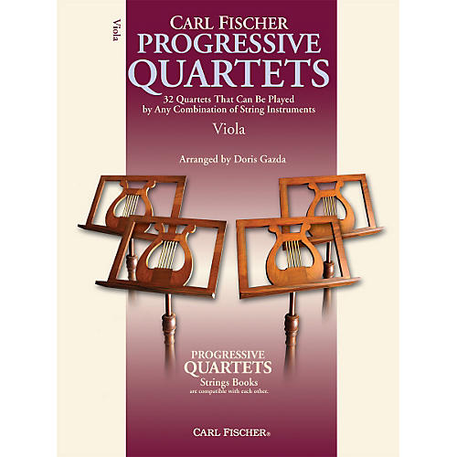 Carl Fischer Progressive Quartets for Strings- Viola (Book)