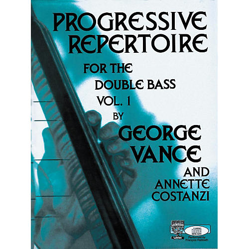 Carl Fischer Progressive Repertoire For The Double Bass Vol. One-thumbnail