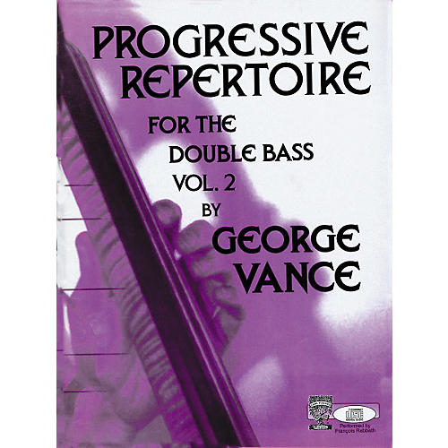 Carl Fischer Progressive Repertoire For the Double Bass Volume 2