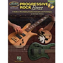 Musicians Institute Progressive Rock Bass Musicians Institute Press Series Softcover with CD Written by Christopher Maloney