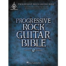 Hal Leonard Progressive Rock Guitar Bible (Guitar Tab Songbook)
