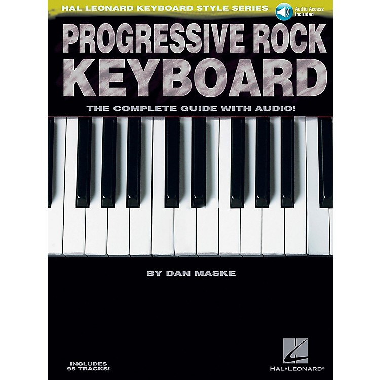 Hal Leonard Progressive Rock Keyboard Book/CD
