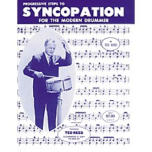Alfred Progressive Steps to Syncopation for the Modern Drummer Book