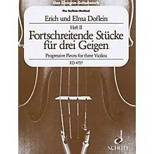 Schott Progressive Studies and Pieces (Volume 2) Schott Series Composed by Elma Doflein