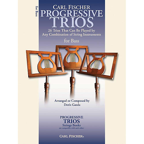 Carl Fischer Progressive Trios for Strings - String Bass Book