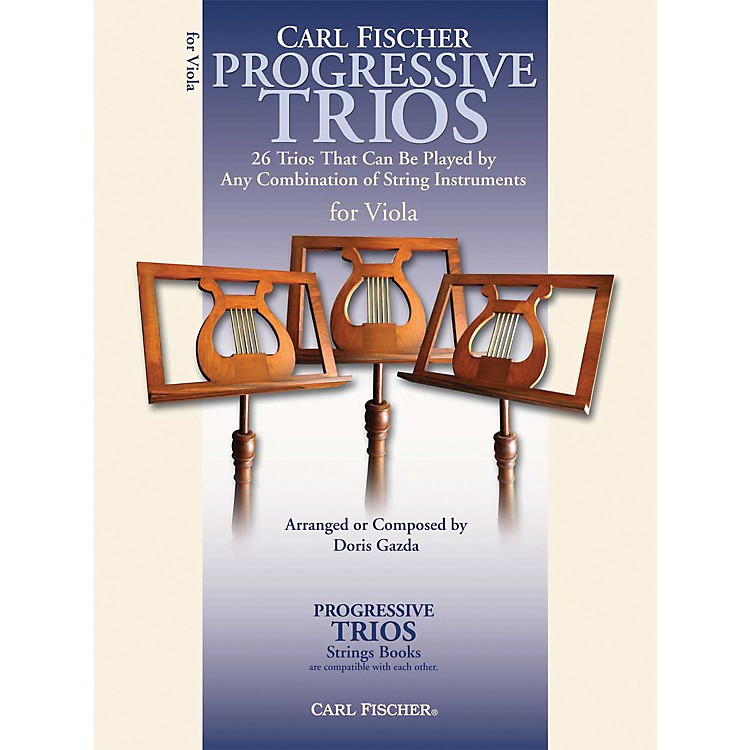 Carl FischerProgressive Trios for Strings - Viola Book