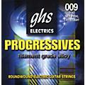 GHS Progressives Electric Guitar Strings Extra Light