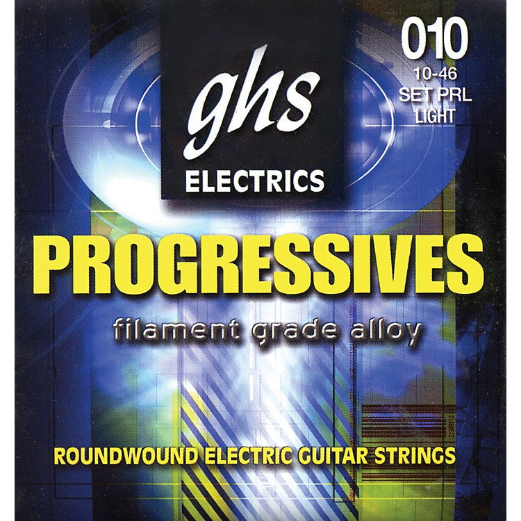 GHS Progressives Electric Guitar Strings Light