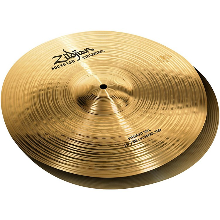 Zildjian Project 391 Limited Edition Hi-hat Cymbal Pair