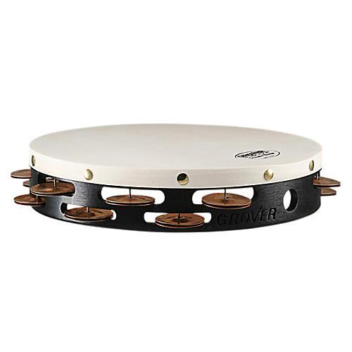 Grover Pro Projection-Plus Double-Row Phosphor Bronze Tambourine 10 Inch