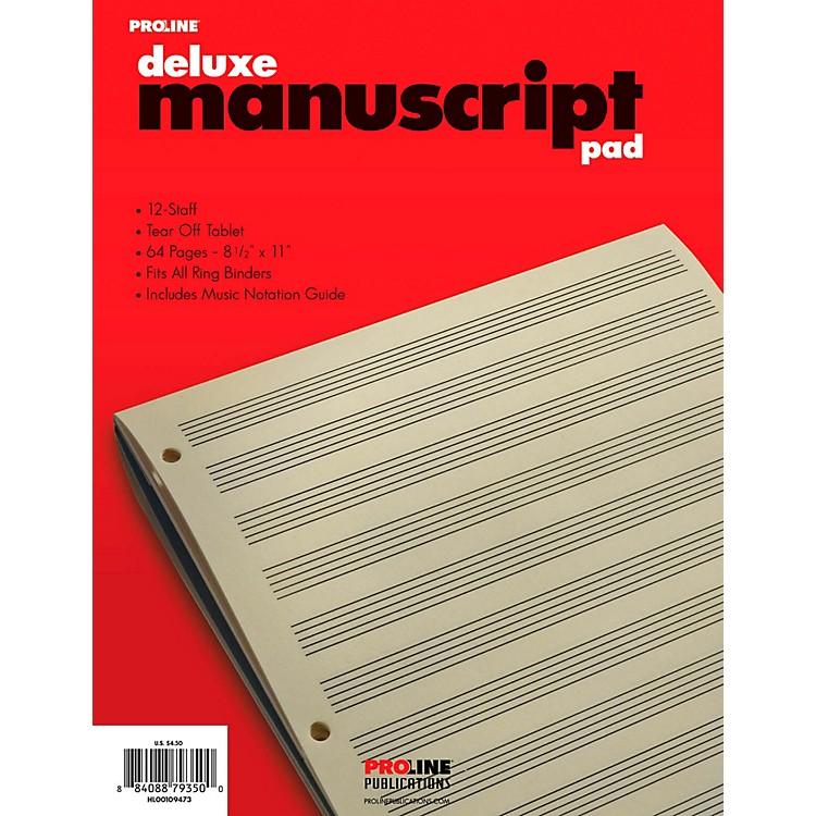 ProLineProline Manuscript Paper Deluxe Pad