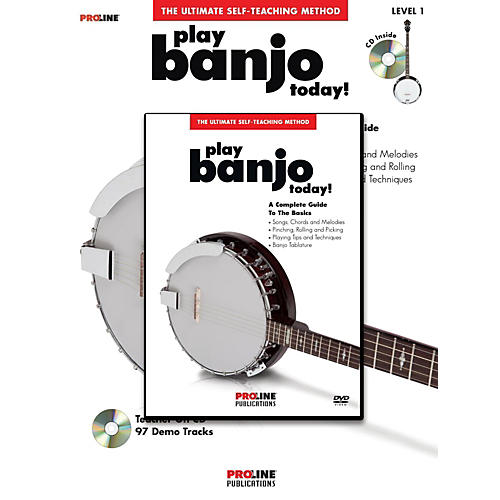 Proline Proline Play Banjo Today! Method (Book/CD/DVD)