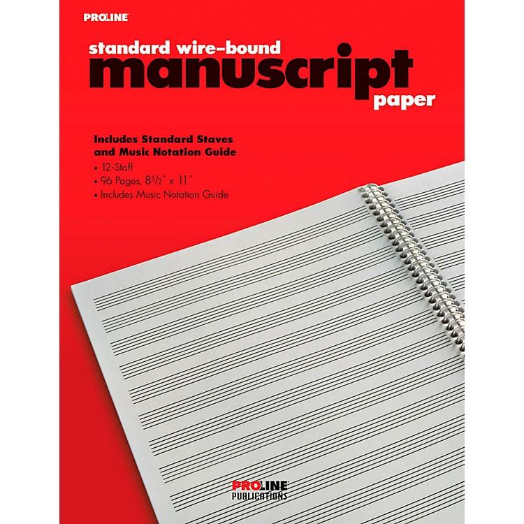 ProLineProline Standard Wire-Bound Manuscript Paper Pad