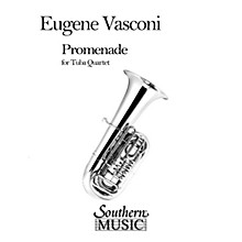 Southern Promenade (2 Euphoniums/2 Tubas) Southern Music Series by Eugene Vasconi