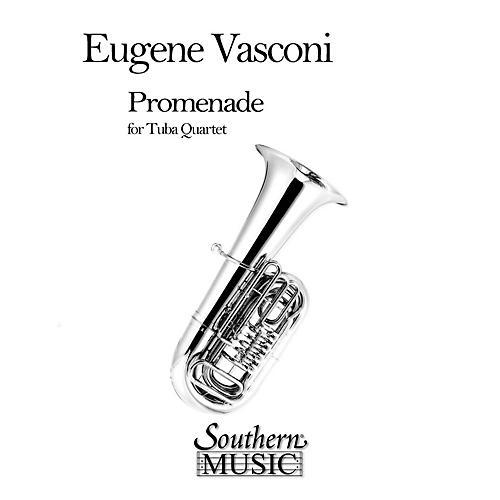 Southern Promenade (2 Euphoniums/2 Tubas) Southern Music Series by Eugene Vasconi-thumbnail