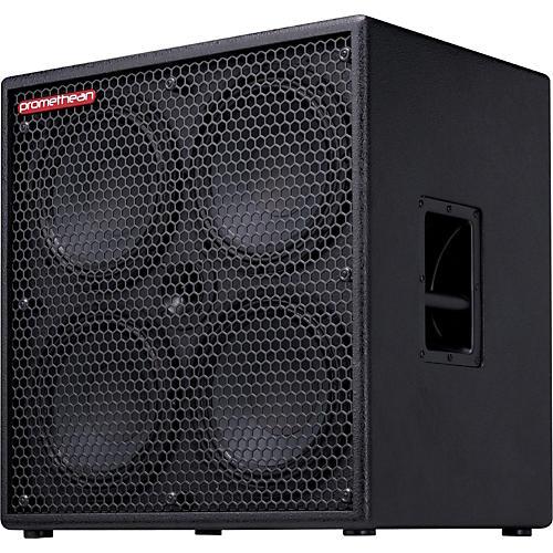 Ibanez Promethean P410C 1000W 4x10 Bass Speaker Cabinet Black 4 Ohm