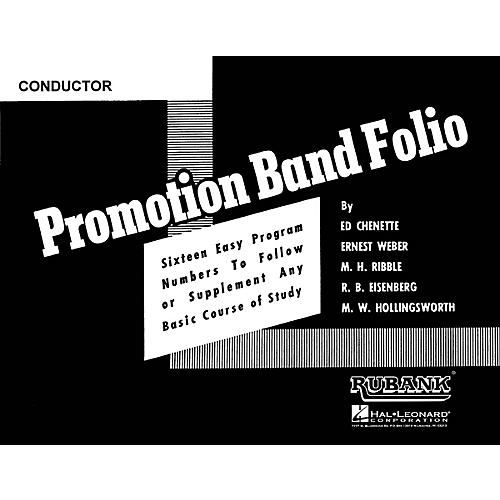 Rubank Publications Promotion Band Folio (Conductor) Concert Band Composed by Various