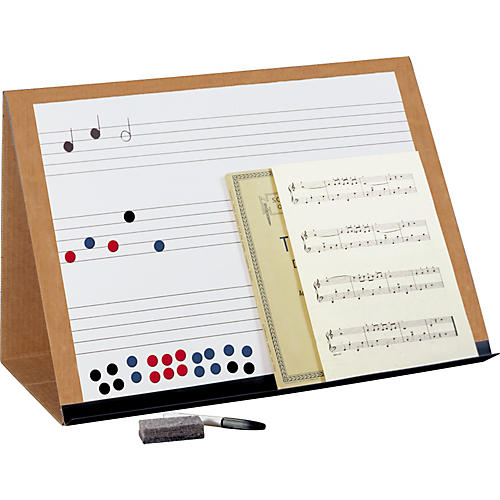 Prop-It Prop-It Magnetic Dry Erase Music Staff Easel