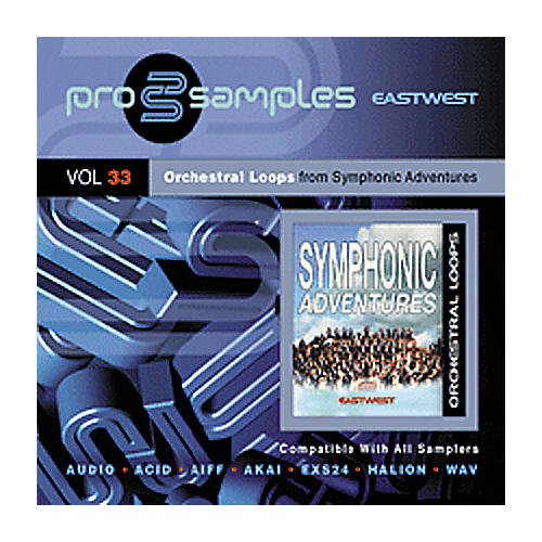 EastWest Prosamples Vol 33 Orchestral Loops CD-ROM