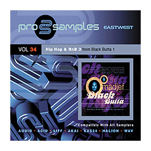 EastWest Prosamples Vol 34 Hip-Hop and RnB 3 CD-ROM