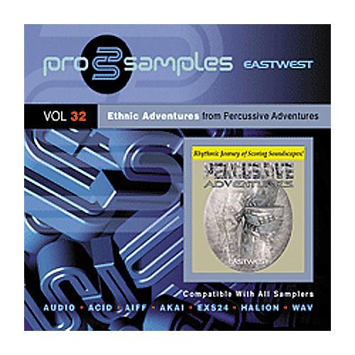 EastWest Prosamples Vol. 32 Ethnic Adventures CD-ROM