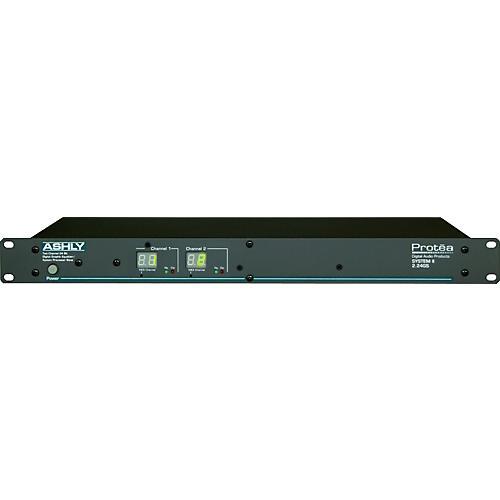 Ashly Audio Protea 2.24GS 2-Channel Graphic EQ Sys Processor
