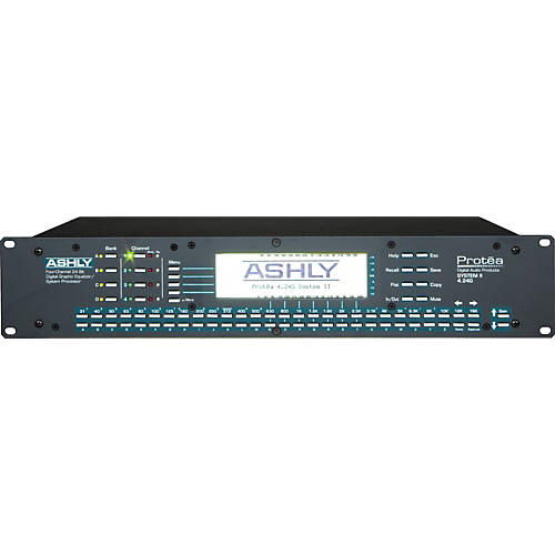 Ashly Audio Protea 4.24G 4-Channel Graphic EQ System Processor