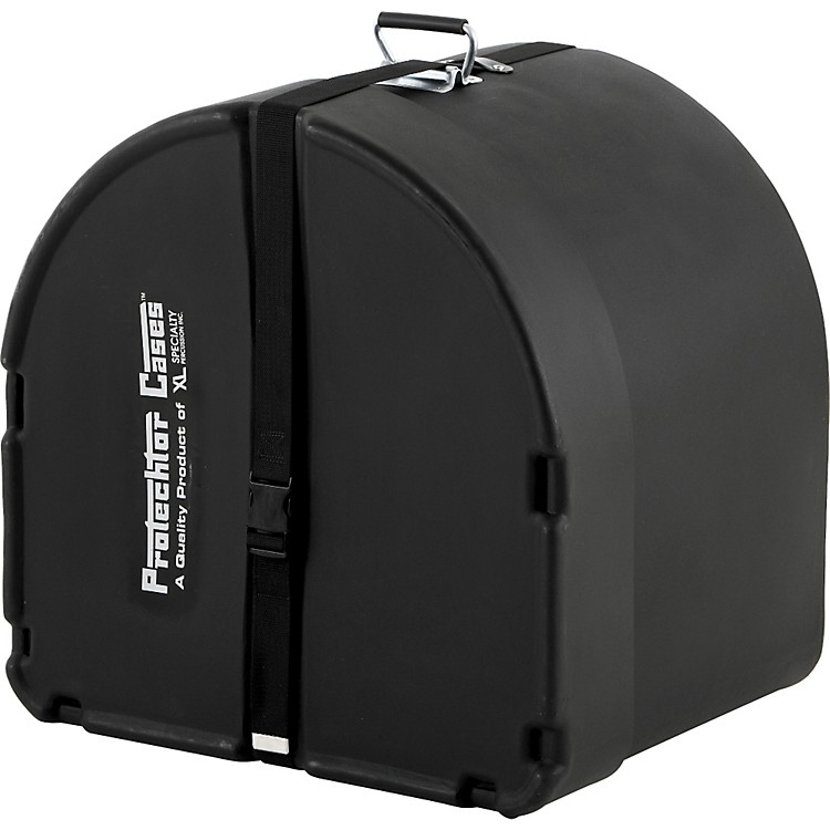 Protechtor Cases Protechtor Classic Bass Drum Case, Foam-lined 22x18 Black