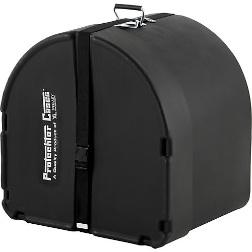 Protechtor Cases Protechtor Classic Bass Drum Case, Foam-lined 24 x 16 in. Black