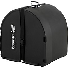 Protechtor Cases Protechtor Classic Bass Drum Case, Foam-lined 24 x 18 in. Black